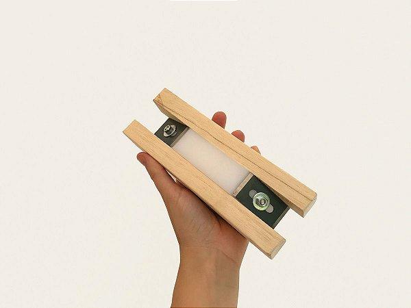 Refilador manual corte duplo para fitas de borda