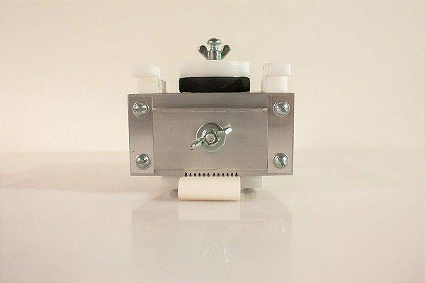 Reservatório em alumínio intercambiável p/ Coladeira de borda modelo 2 fitas