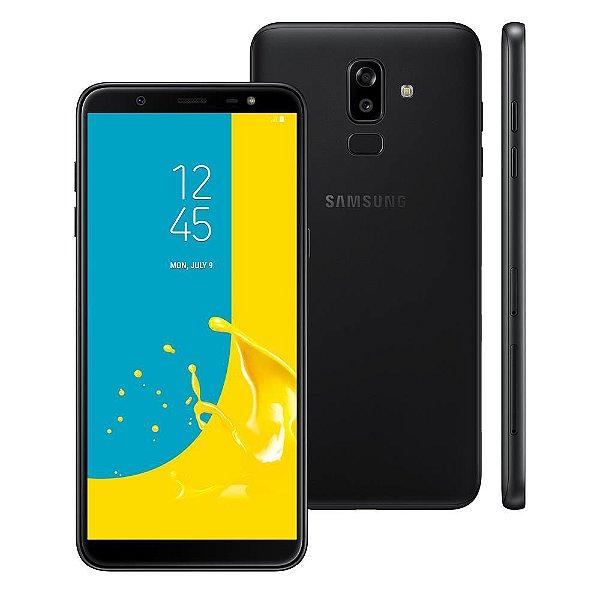 Smartphone Samsung Galaxy J8 Preto 64GB, Entrada de R$180,00 + 10x de R$92,00