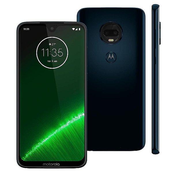 Smartphone Motorola Moto G7 Plus XT1965 64GB, Entada de R$200,00 +10x de R$115,00