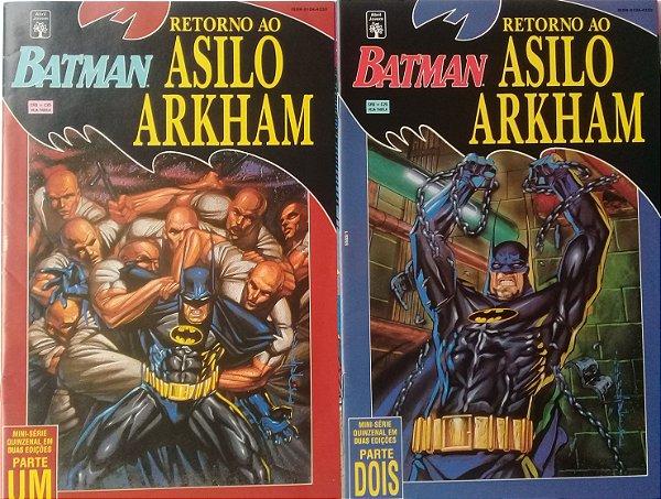 Resultado de imagem para Batman retorno ao asilo arkham