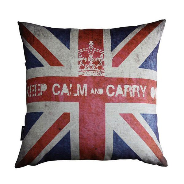 Almofada 45 Keep Calm Uk