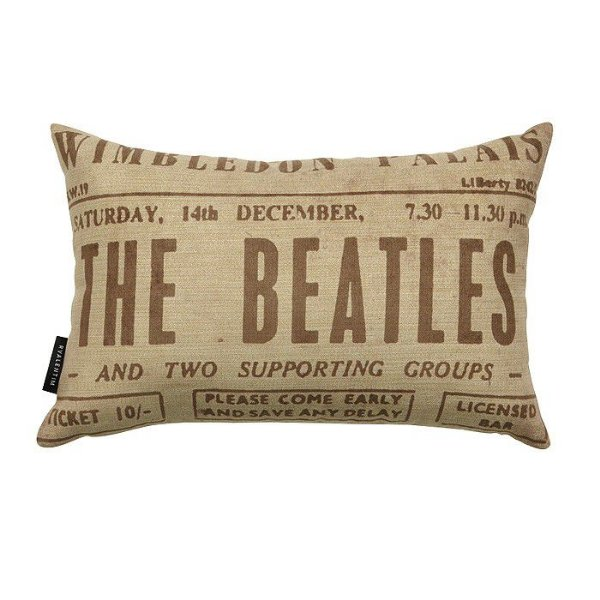 Almofada 30 Beatles White