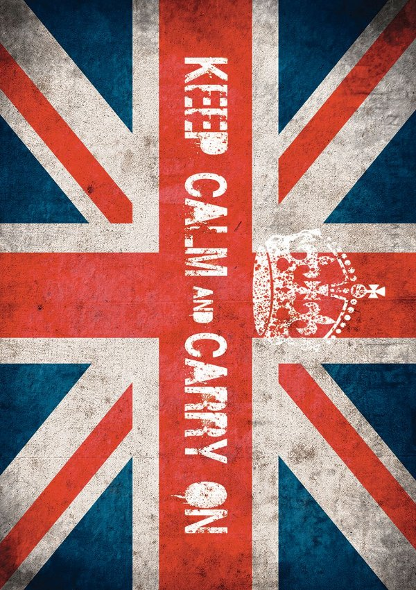 Tapete Keep Calm Uk