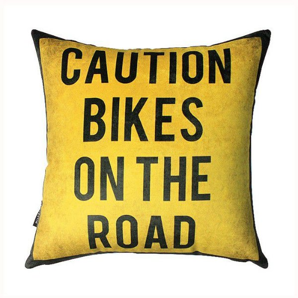 Almofada Caution Bike
