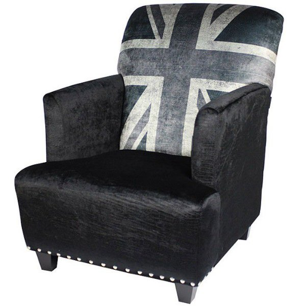 Poltrona Berger Uk Black