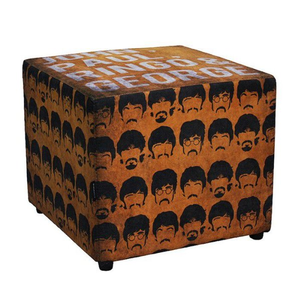 Pufe Beatles Orange 50