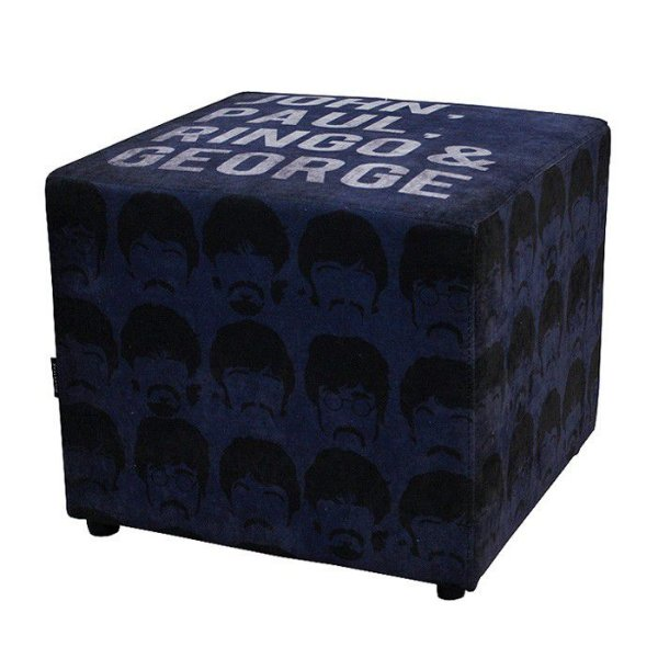 Pufe Beatles Blue 50