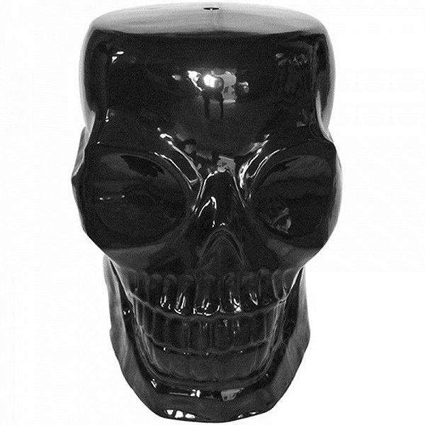 Pufe Skull Black