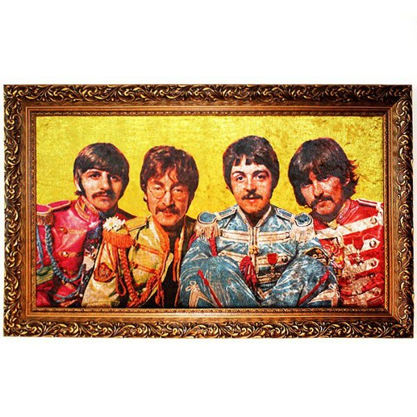 Quadro Beatles Yellow