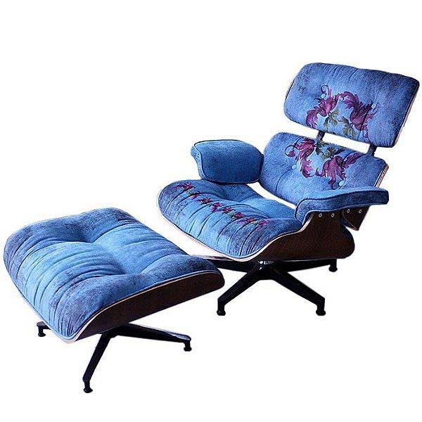Poltrona Eames Lounge Barroca