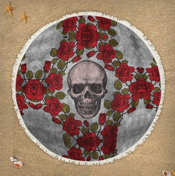 Canga Skull Roses