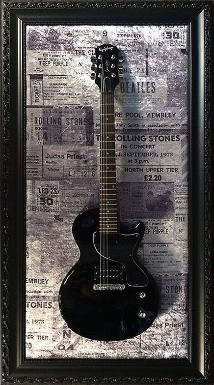 Quadro Guitar Frame Black