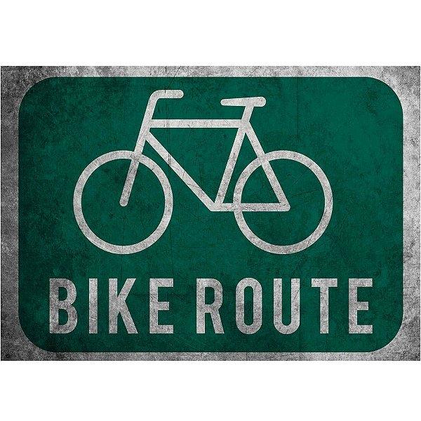 Jogo Americano Bike Route - 02 Peças