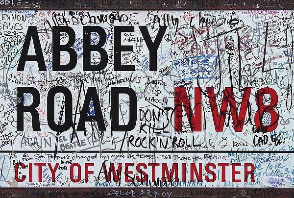 Jogo Americano Abbey Road- 01 peça