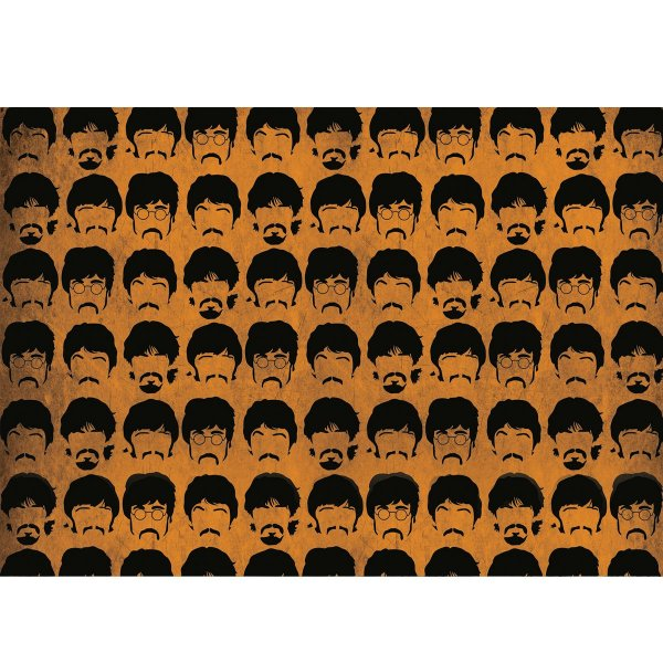 Capacho Beatles Orange