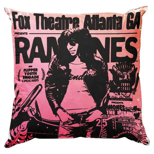 Almofada 45 Ramones Pink