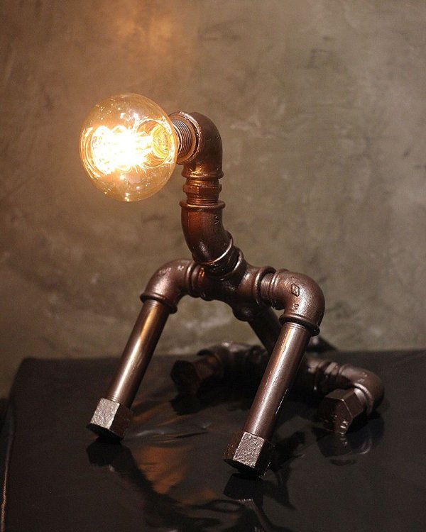 Luminaria Dog c/ lamp.
