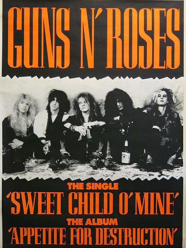 Adesivo Guns n' Roses
