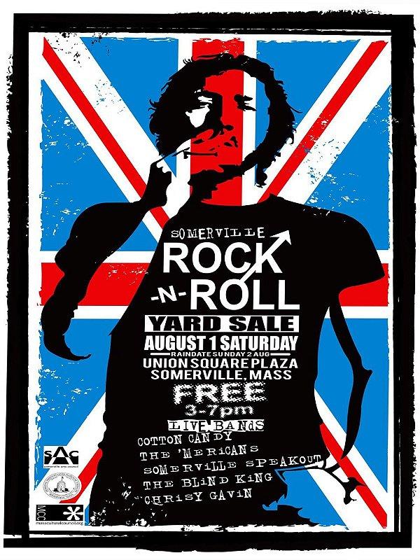 Adesivo Rock n Roll