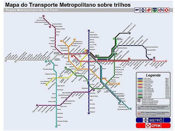 Adesivo Metro SP