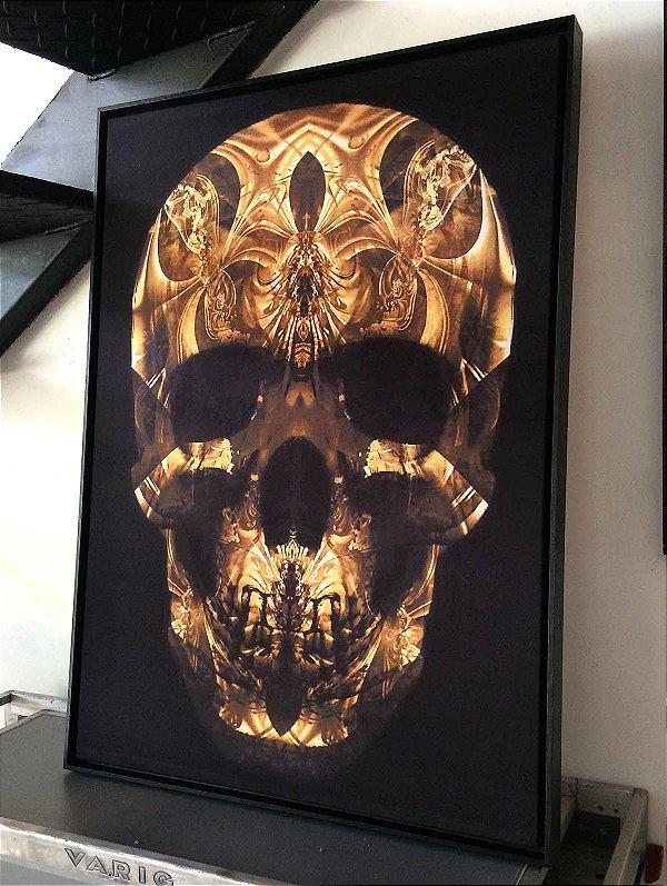 Tela Skull Gold