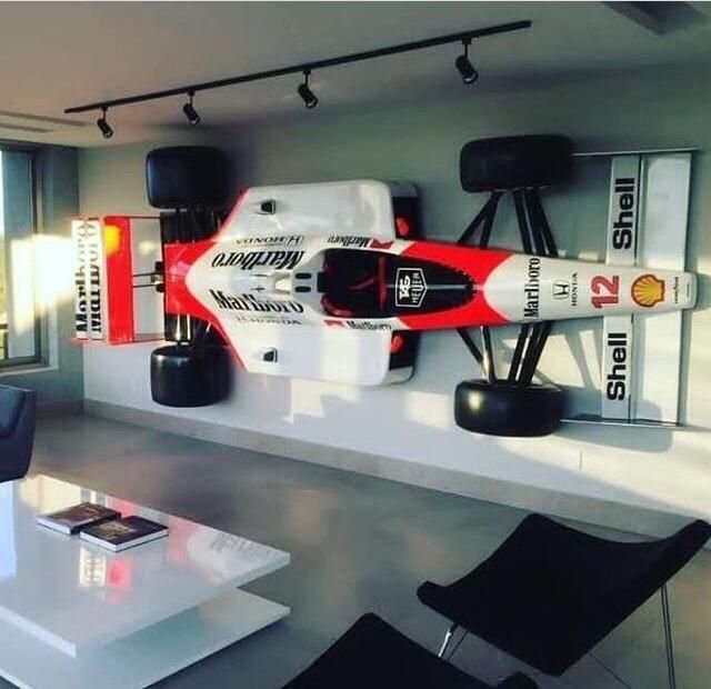 Carro F1 em Fibra - Tamanho Original