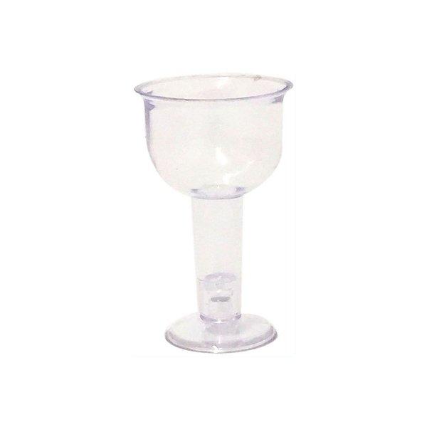 Mini Tacinha de Acrilico 15 ml  (10 unid.)