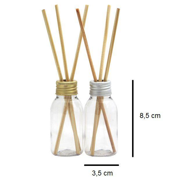 Frasco para Aromatizador Plástico de 60 ml (10 unid)