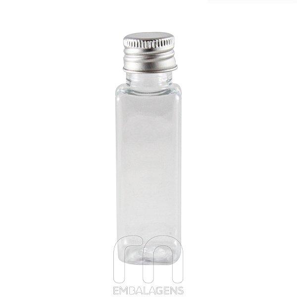 Frasco pet plastico para Lembrancinhas 30 ml Retangular (10 unid.)
