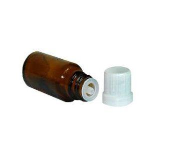 Vidro âmbar de 10 ml para Essências (10 unid.)