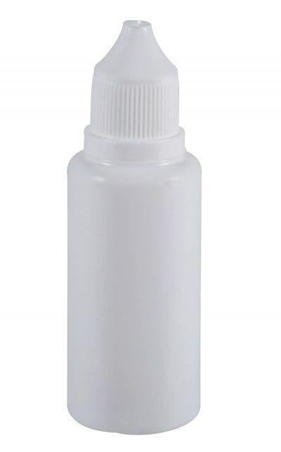 Frasco conta gotas 30 ml plástico gotejador
