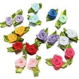 Mini Lacinho com Flor para Lembrancinhas (10 unid.)