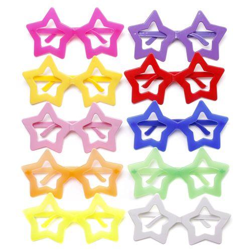 Óculos para Festa de Estrela Plástico (12 unid.)