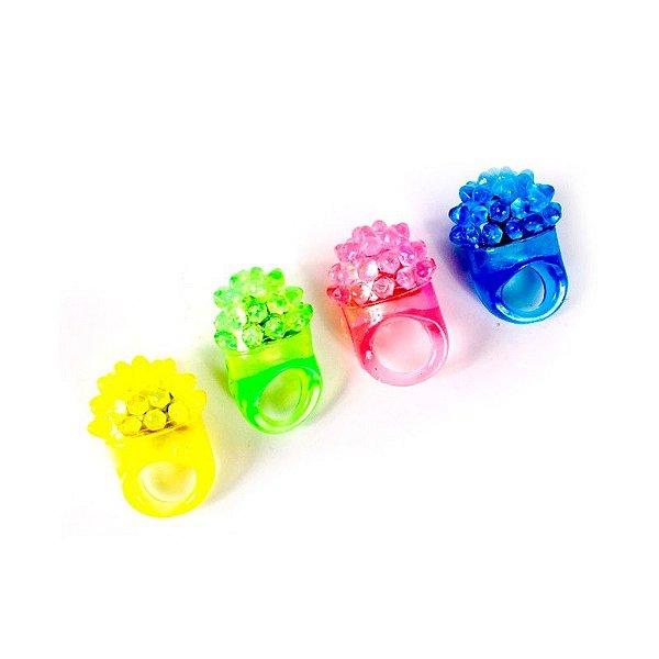 Anéis Neon Pisca Pisca de Gel Cores Sortidas (5 unid.)