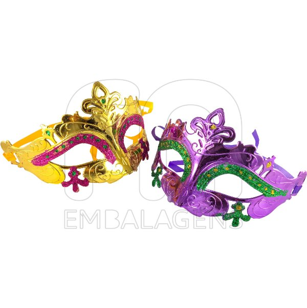 Máscaras Gala Luxo Veneza Carnaval Sortida (10 unid.)