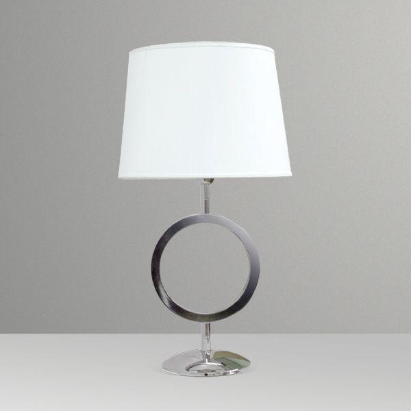 Abajur  Alumínio Decorativo Círculo Cúpula Cônica Tecido Bivolt 65cm de Altura Golden Art E-27 M028 Quartos e Salas