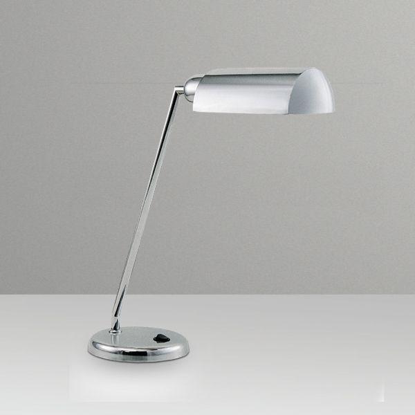 Abajur Luminária de Mesa Inclinada Calha Alumínio Bivolt 40cm de Altura Desk Golden Art E-27 M683 Escritórios e Quartos