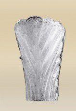 Arandela Texturizada Interna Vidro Cristal Fosco Soprado 28x18 Riga Madelustre E-27 2249 Corredores e Salas