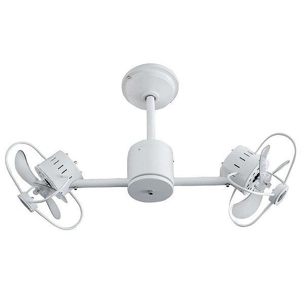 Ventilador Teto Lustre Infinit Branco Controle Remoto Luminaria Quarto Sala Cozinha Treviso TRV67