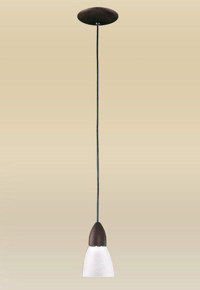 Pendente Vertical Rústico Madeira Maciça Cúpula Tulipa Vidro Leitoso Ø10cm Lumi Madelustre E-27 1608 Cozinhas e Hall