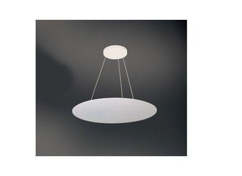 Pendente Acrílico Redondo Luz Indireta Ø40 Prime Usina Design G9 270/40 Quartos e Salas