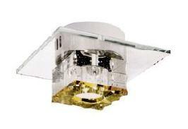 Spot Cristal 20x20 Luminária Led Teto Sala Jantar Comercial Quarto Cozinha Loja Zg211 Luciin