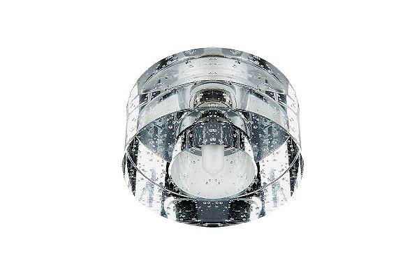 Spot Embutido Cristal Legítimo Sala Quarto Sanca Decorativo Zg229 Luciin
