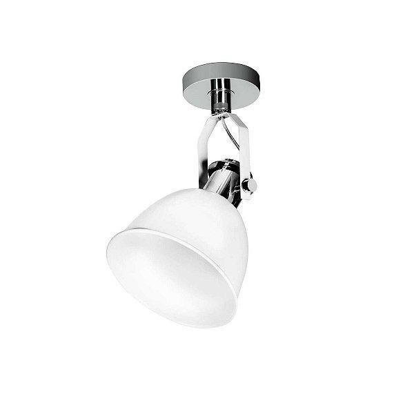 Spot Incoppa Escovado Moderno Branco Sala Quarto Cf141/3 Luciin
