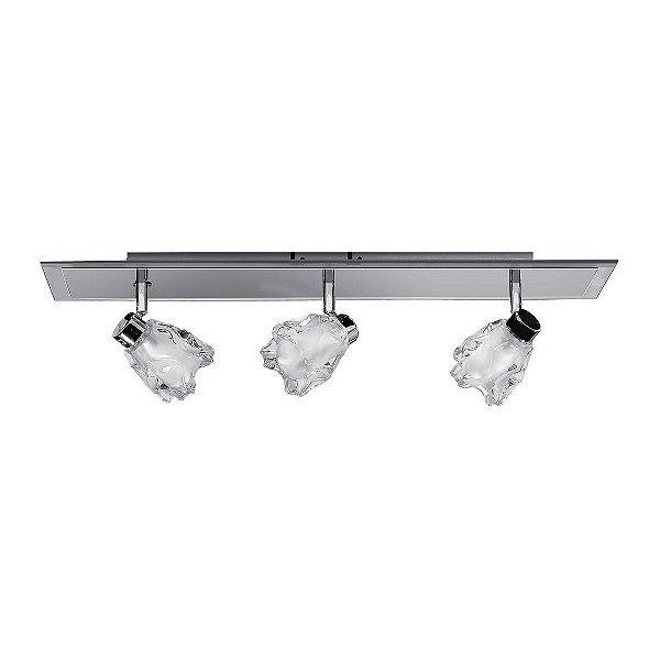 Spot Sofisticado Trilho Inaltamura Cristal Sala Balcão Comercial Loja Je057 Luciin