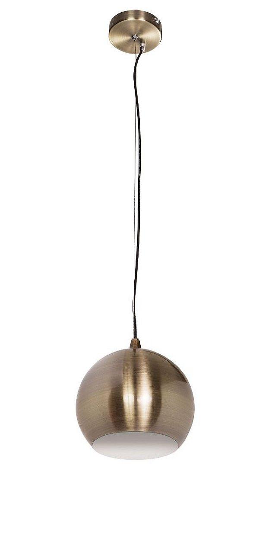 Pendente Vertical Esfera Dourado Decorativo Tom Dixon  28x25 InForli Luciin E-27 Cf036/11 Quartos e Hall