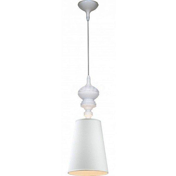 Lustre Pendente Vertical Claire Metal Branco Cupula 55x20cm Mantra 1 E27 40W Bivolt 2341 Cozinhas e Salas
