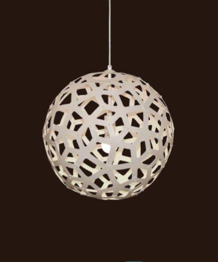 Pendente Sena Vertical Decorativo Esfera Branco 47x45cm Mantra 1 E27 40W Bivolt 30462 Salas e Quartos