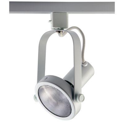Spot Basic Trilho Direcionável Metal Branco 20x10cm Bella Iluminação 1x PAR 30 Bivolt DL031B Cozinhas e e Salas
